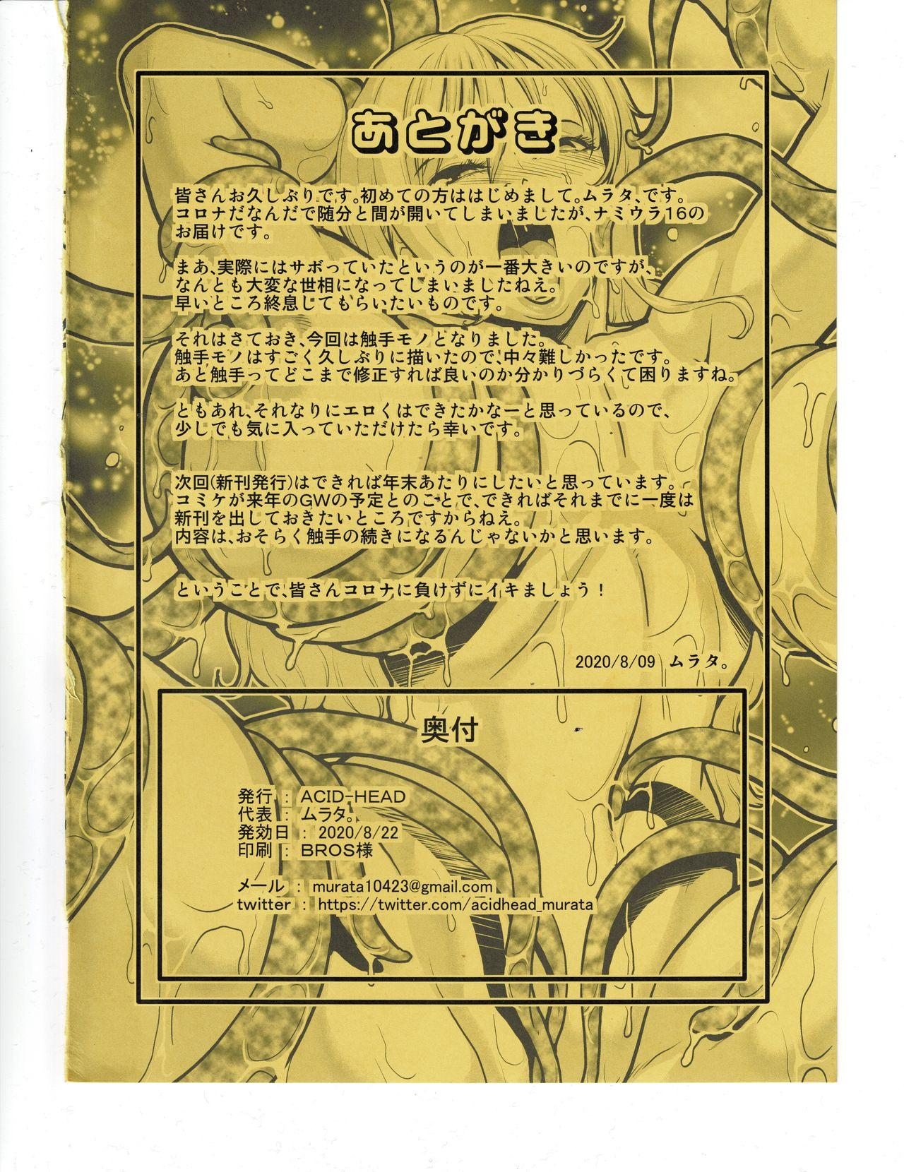 Nami Ura 16 Nami-san VS Shokushu Danyuu 12