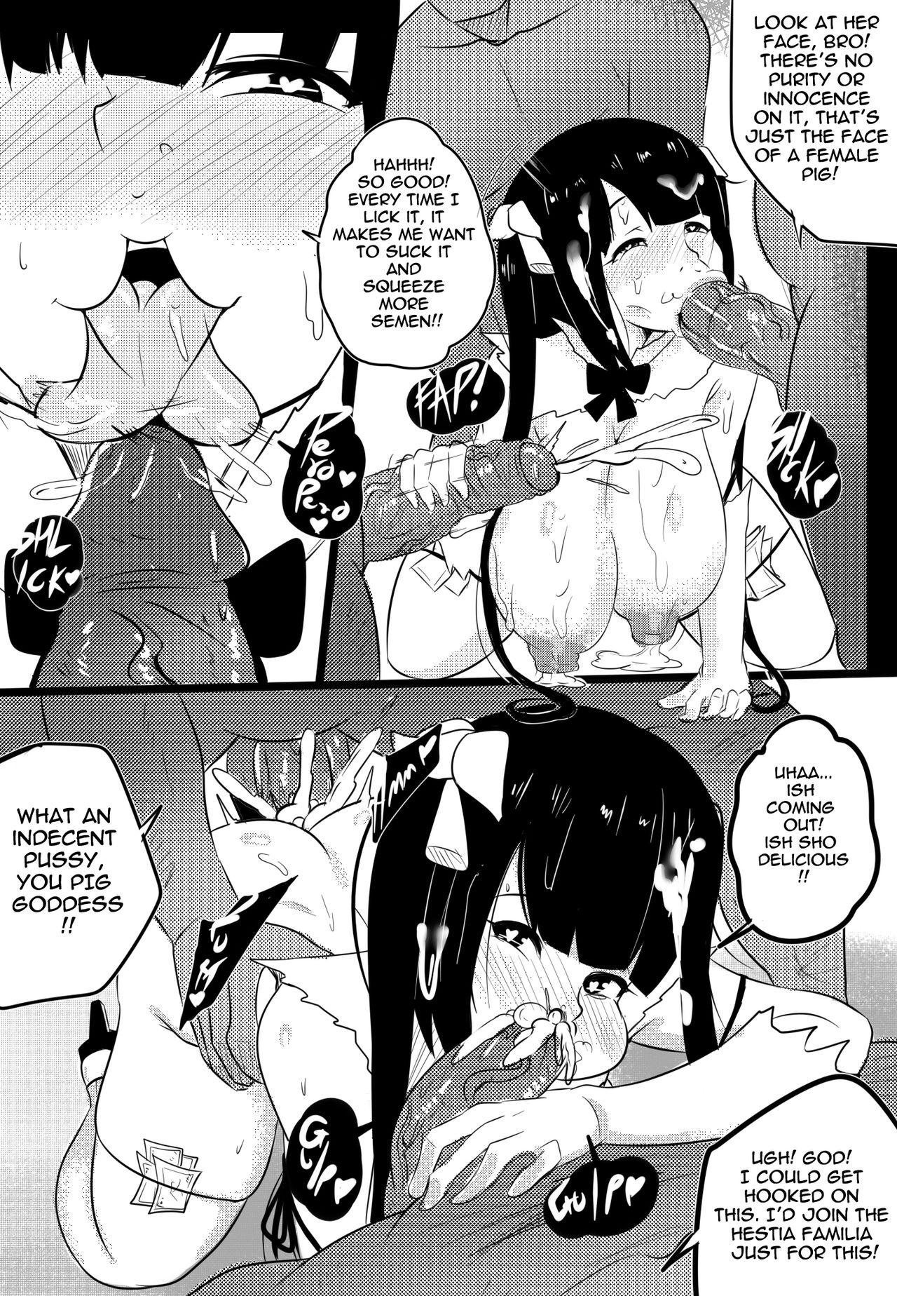 [Merkonig] B-Trayal 20 Hestia (dungeon ni deai o motomeru no wa machigatteiru darou ka) Part2 [English] 11