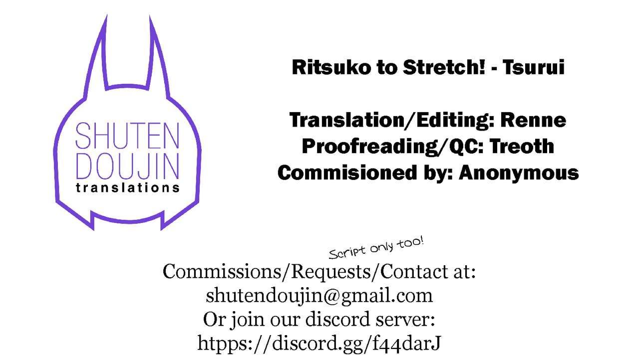 Ritsuko to Stretch! 34