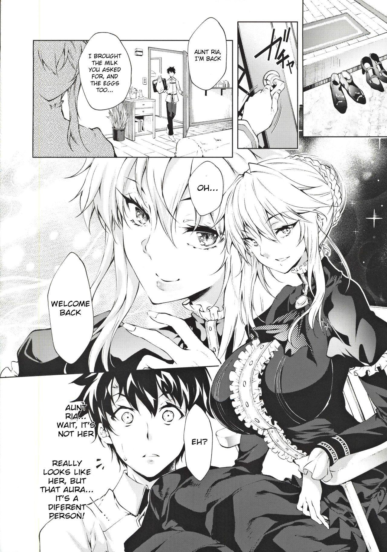 Pendra Shimai no Seijijou   The Pendragon twin sisters' sexual situation 2