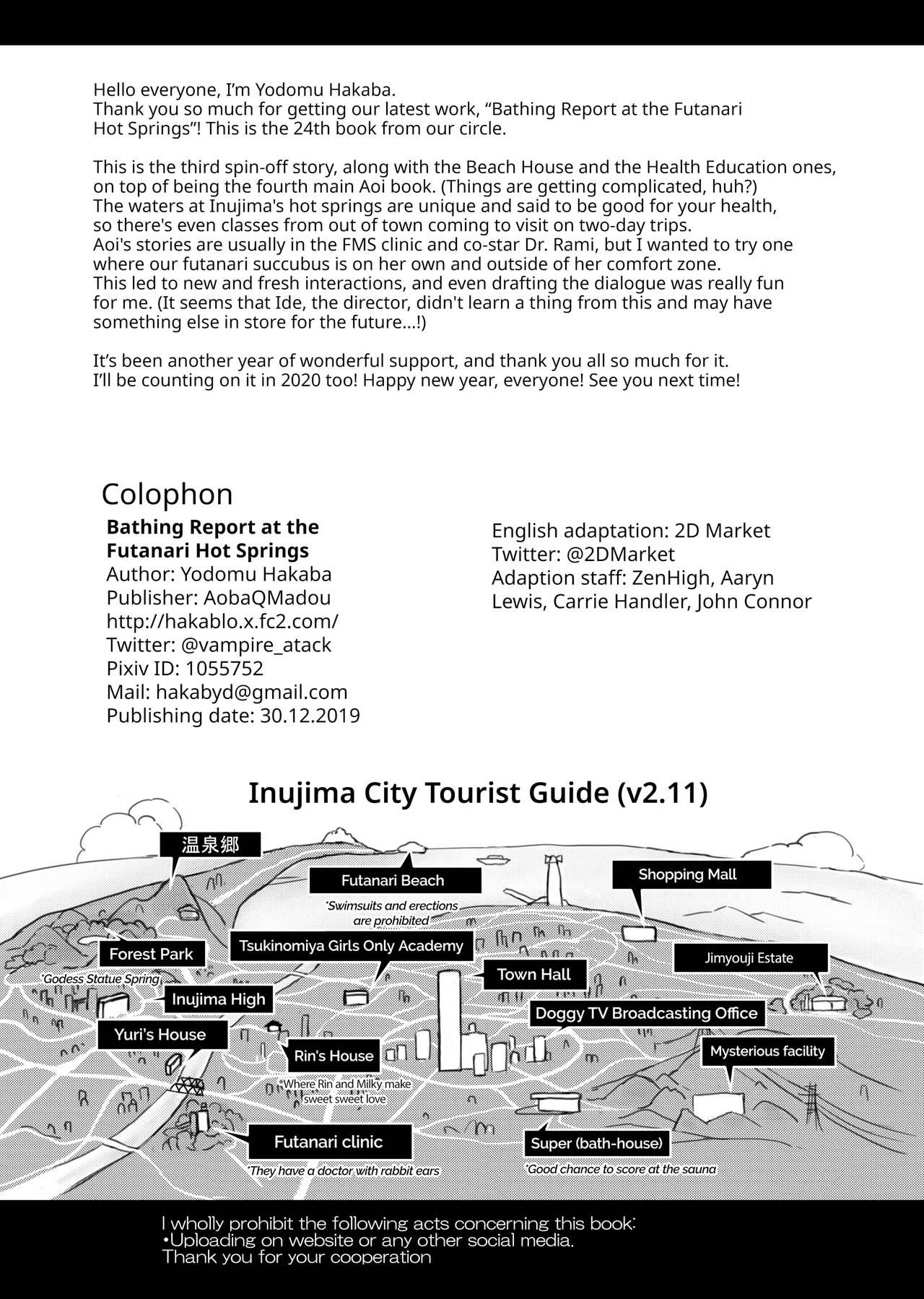 Futanari Onsen Bangumi no Nyuuyoku Reporter ★ | Bathing Report at the Futanari Hot Springs 28