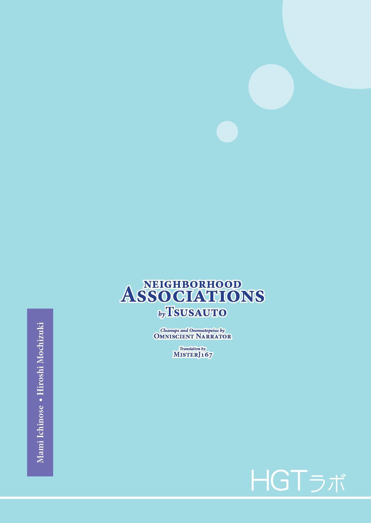 """Neighborhood Associations"" 2"