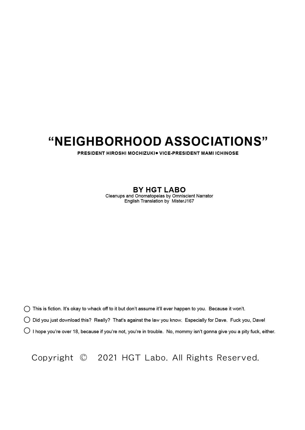 """Neighborhood Associations"" 94"