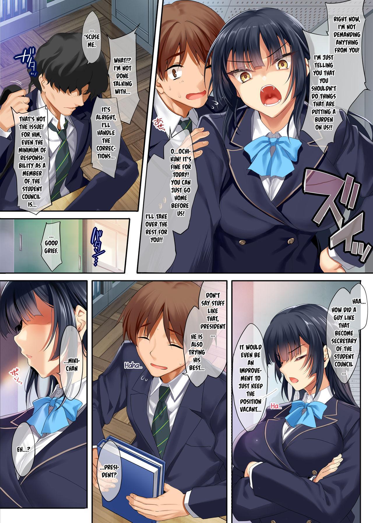Takabisha na Seitokaichou o Appli de Juujun Choukyou 3