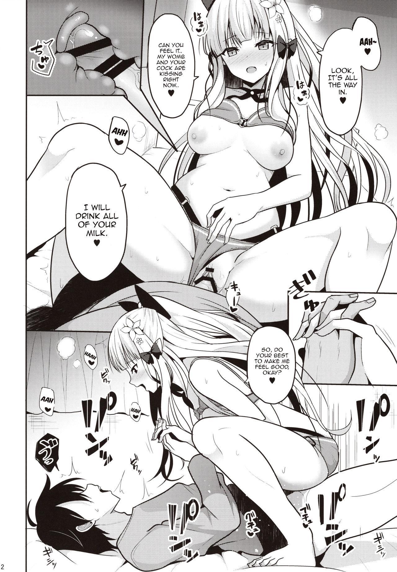 Saren no Yoshi Yoshi Nadenade Iiko 9