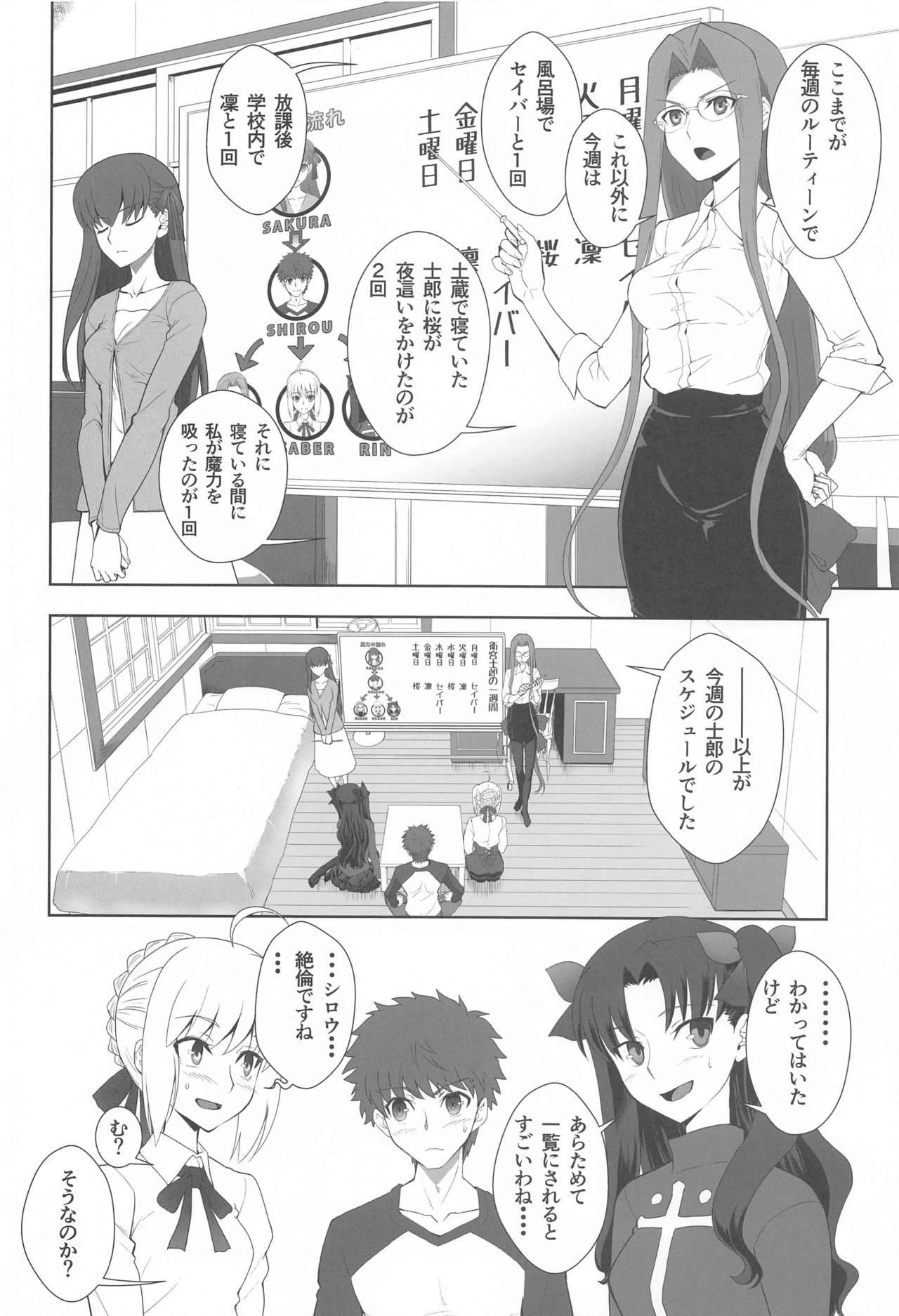 Emiya Shirou no Isshuukan 4