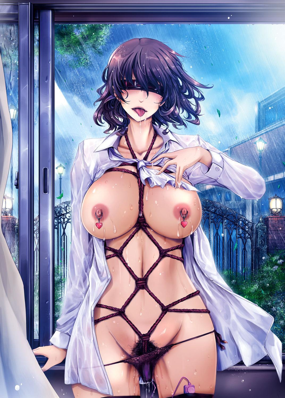 Shiranai Sekai Nureta Inran Shoshi no Himegoto | 未知的世界 濡湿的淫乱图书管理员的秘密 40