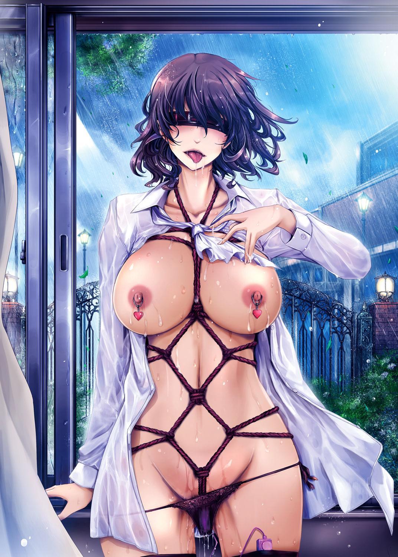 Shiranai Sekai Nureta Inran Shoshi no Himegoto | 未知的世界 濡湿的淫乱图书管理员的秘密 42