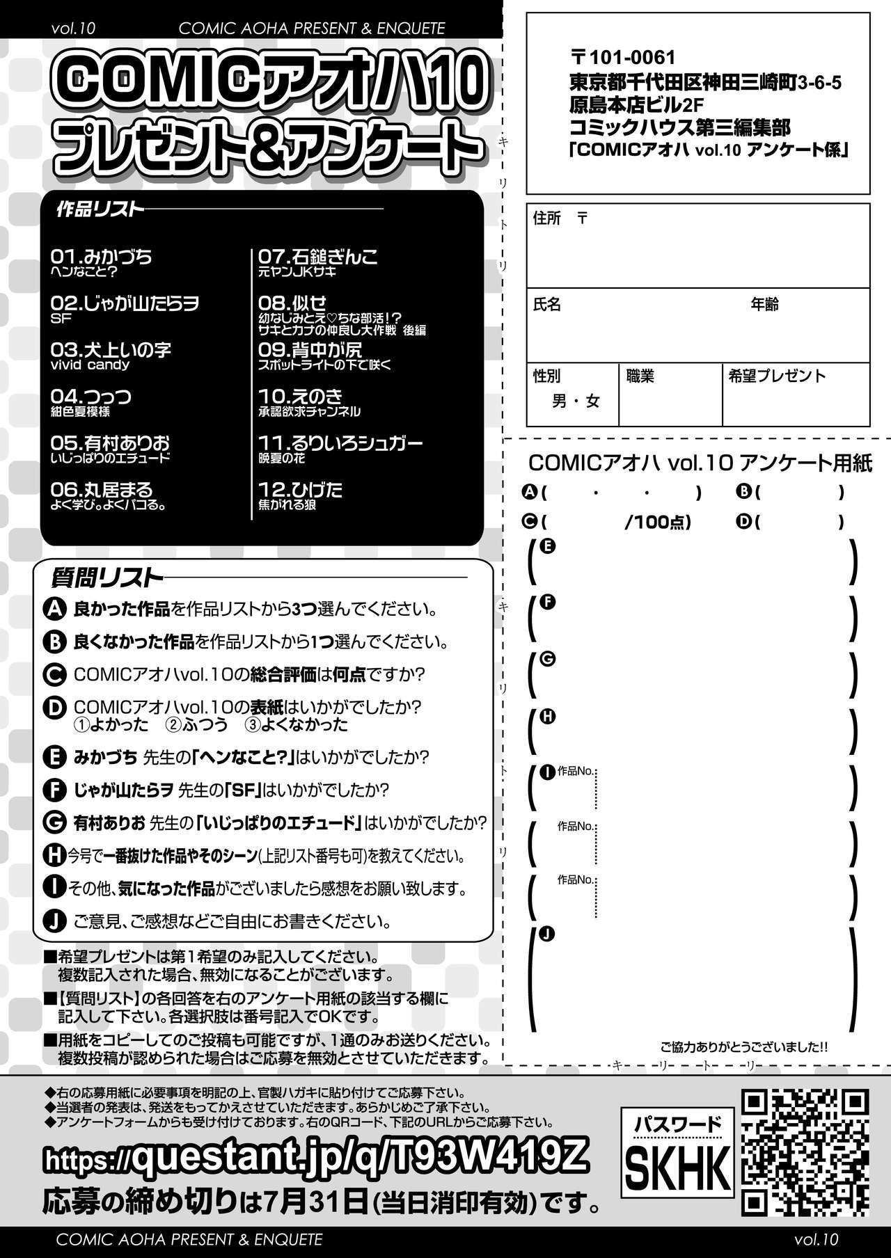 COMIC AOHA 2021 Natsu 351