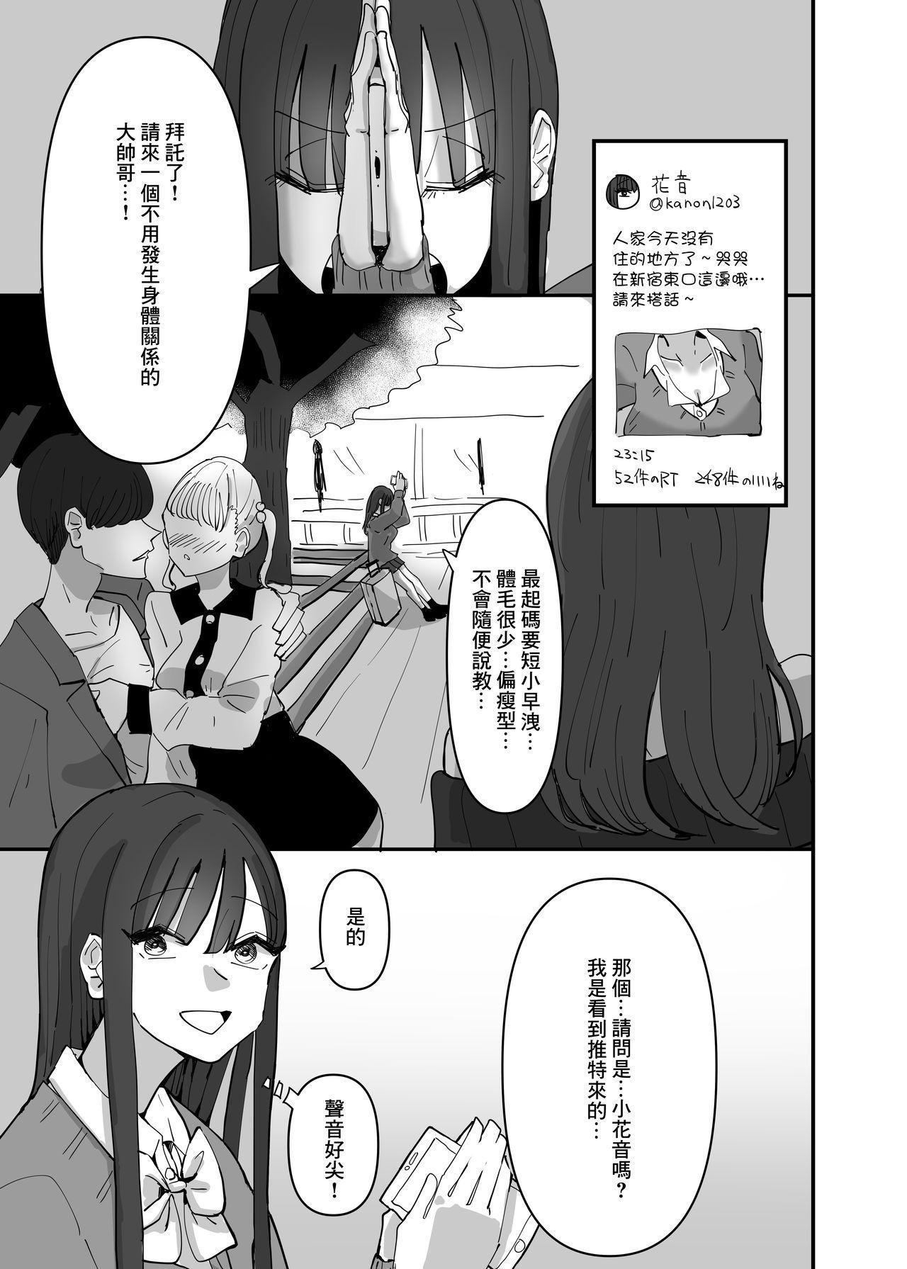 SNS de Tomarasete Kureru Hito o Boshuu Shitara Echiechi Onee-san ga Yattekita Hanashi 1