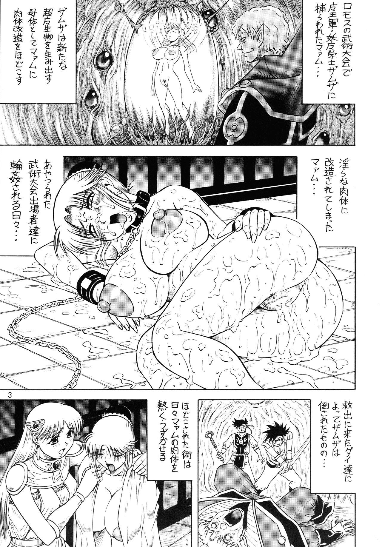 (C70) [J's Style (Jamming)] Gekkan Maam Dai-2-gou Han Nama Type (Dragon Quest: Dai no Daibouken) 2