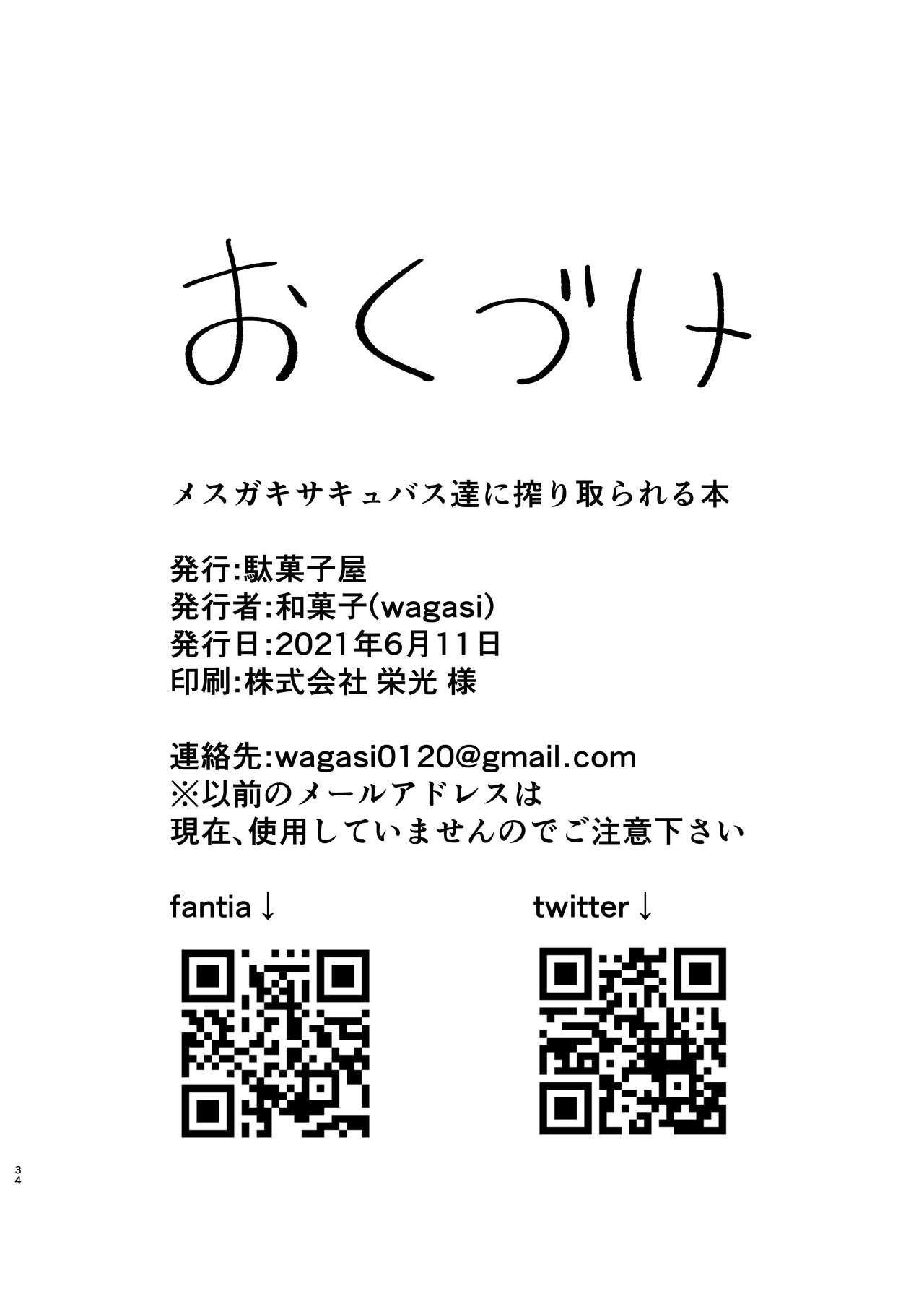 Mesugaki Succubus-tachi ni Shiboritorareru Hon 32