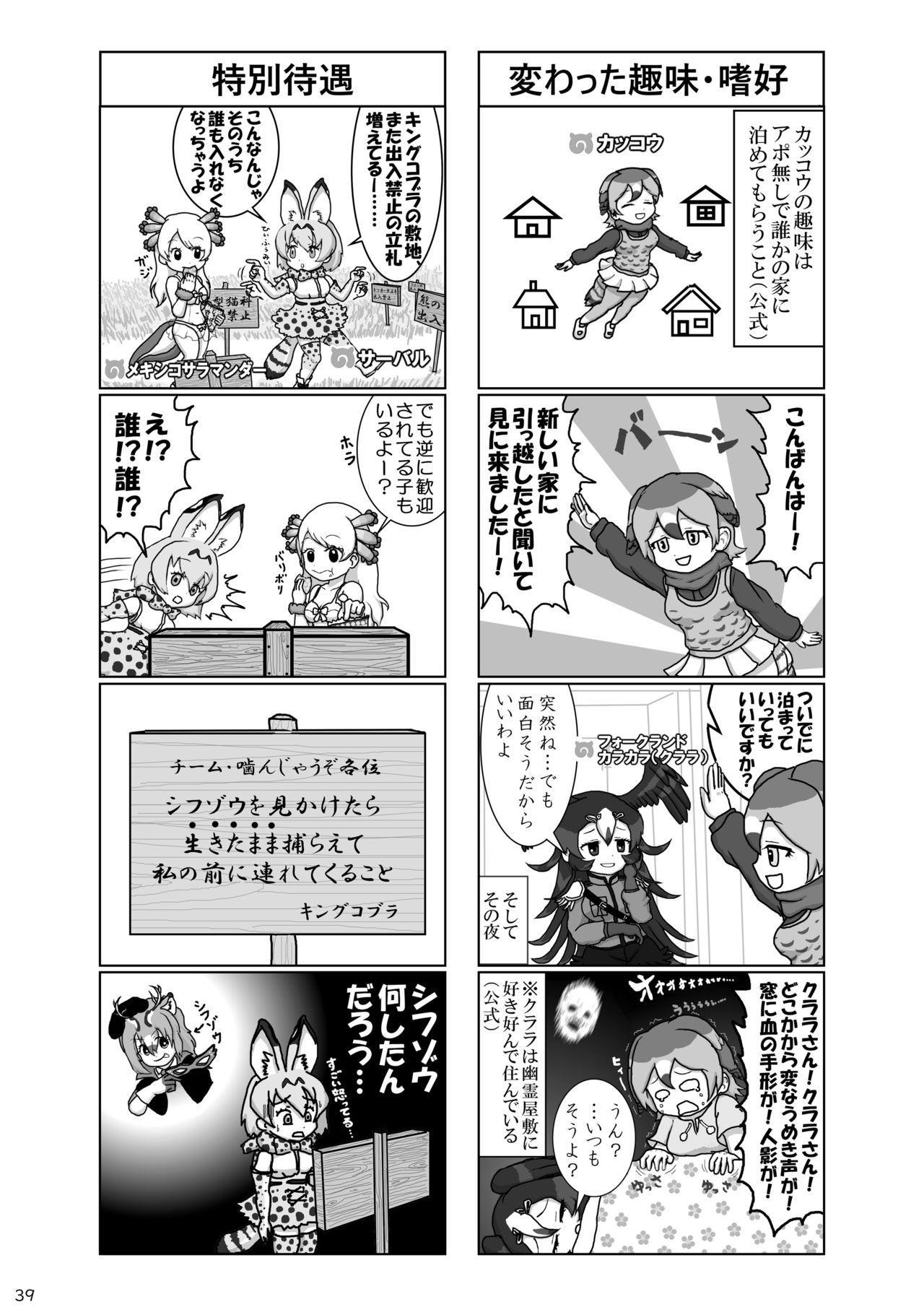 may Kemono Friends Thre Goudoushi 2 40