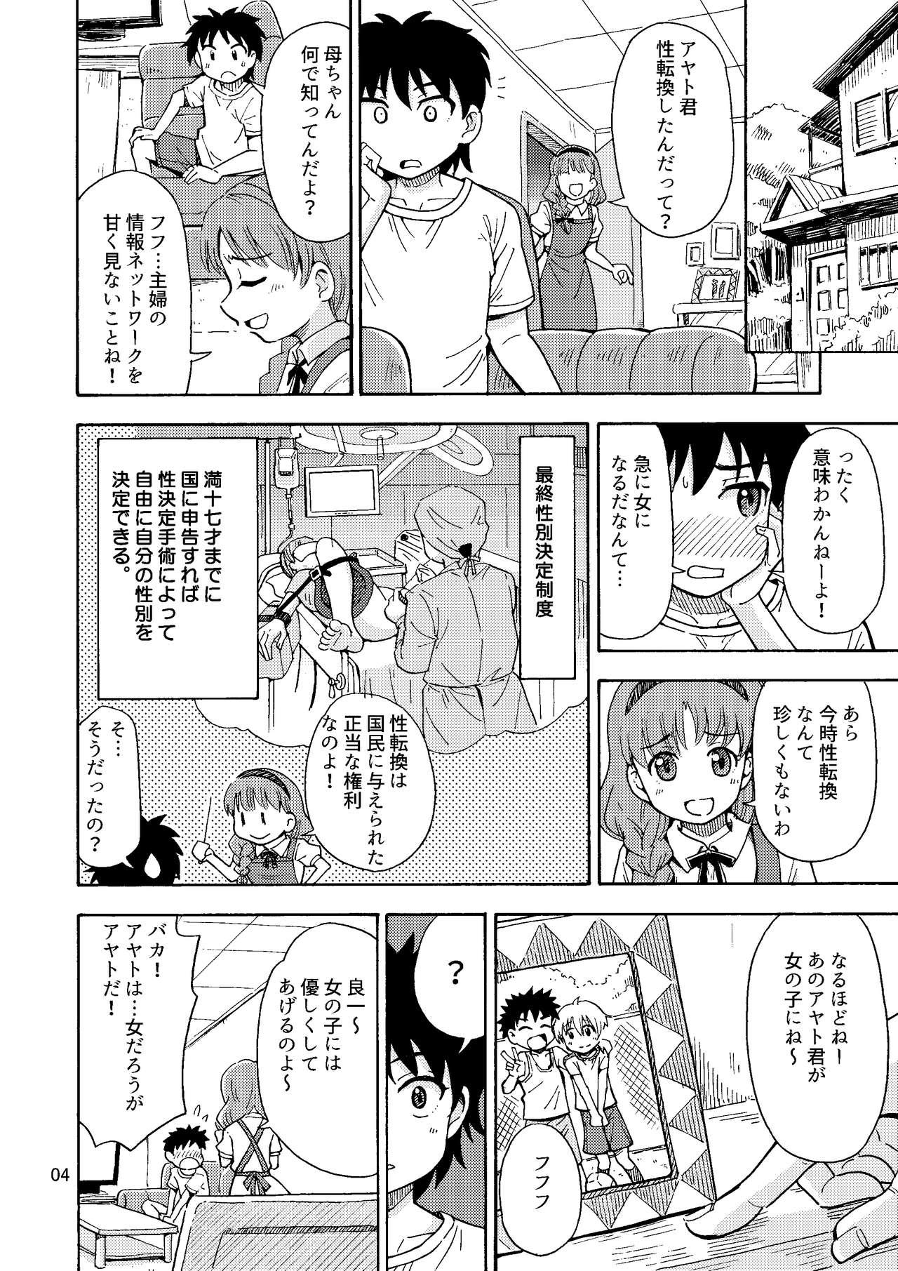 Shinyuu ga Onnanoko ni Narimashita 4