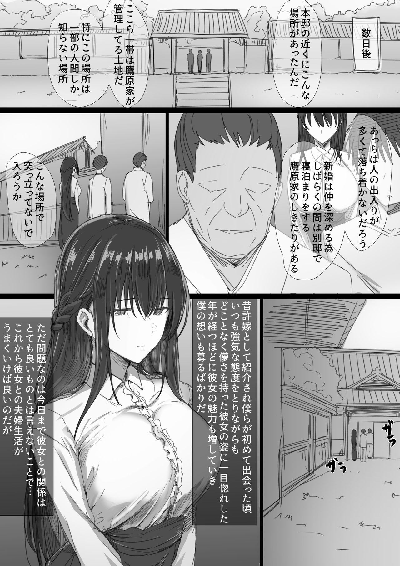 Ki ga Tsuyoi Seiso na Hitozuma Reijou ga Netorareru made no Ichibu Shijuu 3