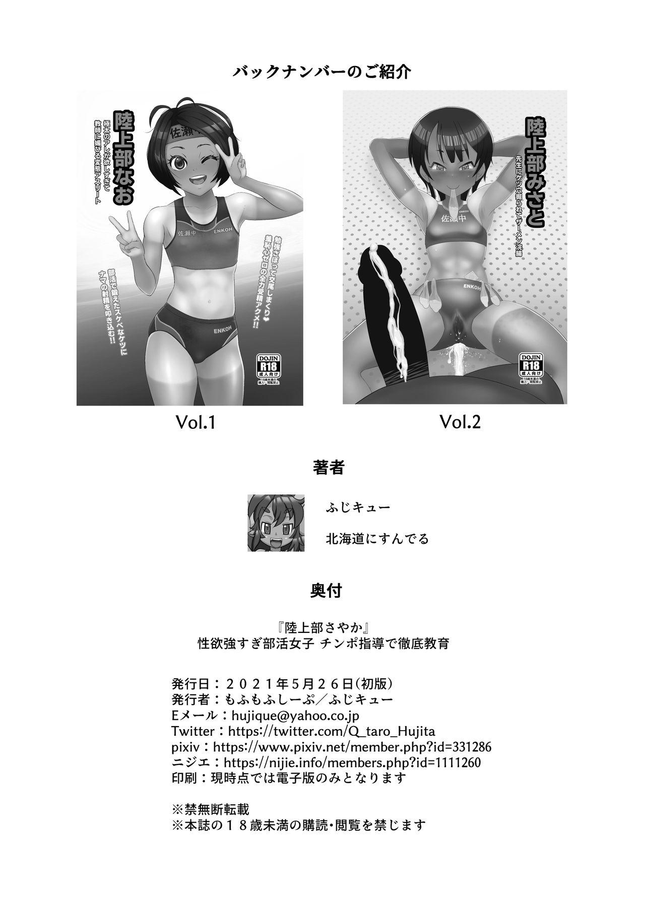 Rikujoubu Sayaka Seiyoku Tsuyosugi Bukatsu Joshi Chimpo Shidou de Tettei Kyouiku 21