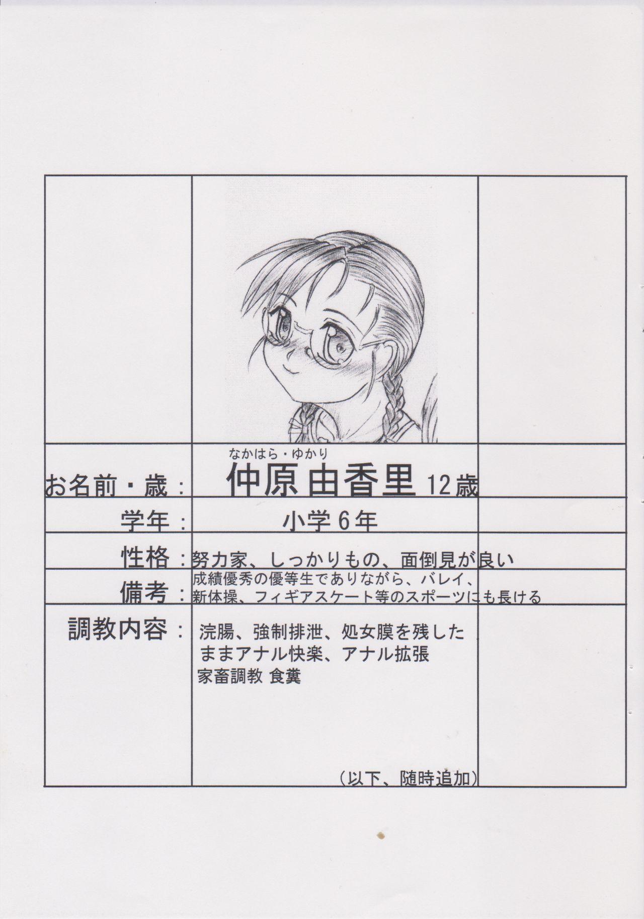 (C78) [Nekoneko Panchu! (Nekoneko Panchu)] Sanshimai Choukyou Yuugi [Yukari Hen] Yukari-chan no Butabana Kachiku Choukyou [Anal Higyaku Jugyou] 1