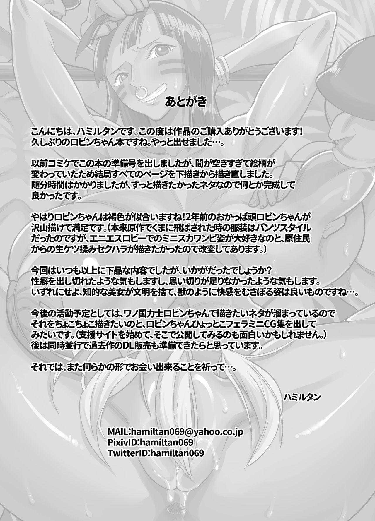 Nico Robin no Ibunka Kouyuuroku 33
