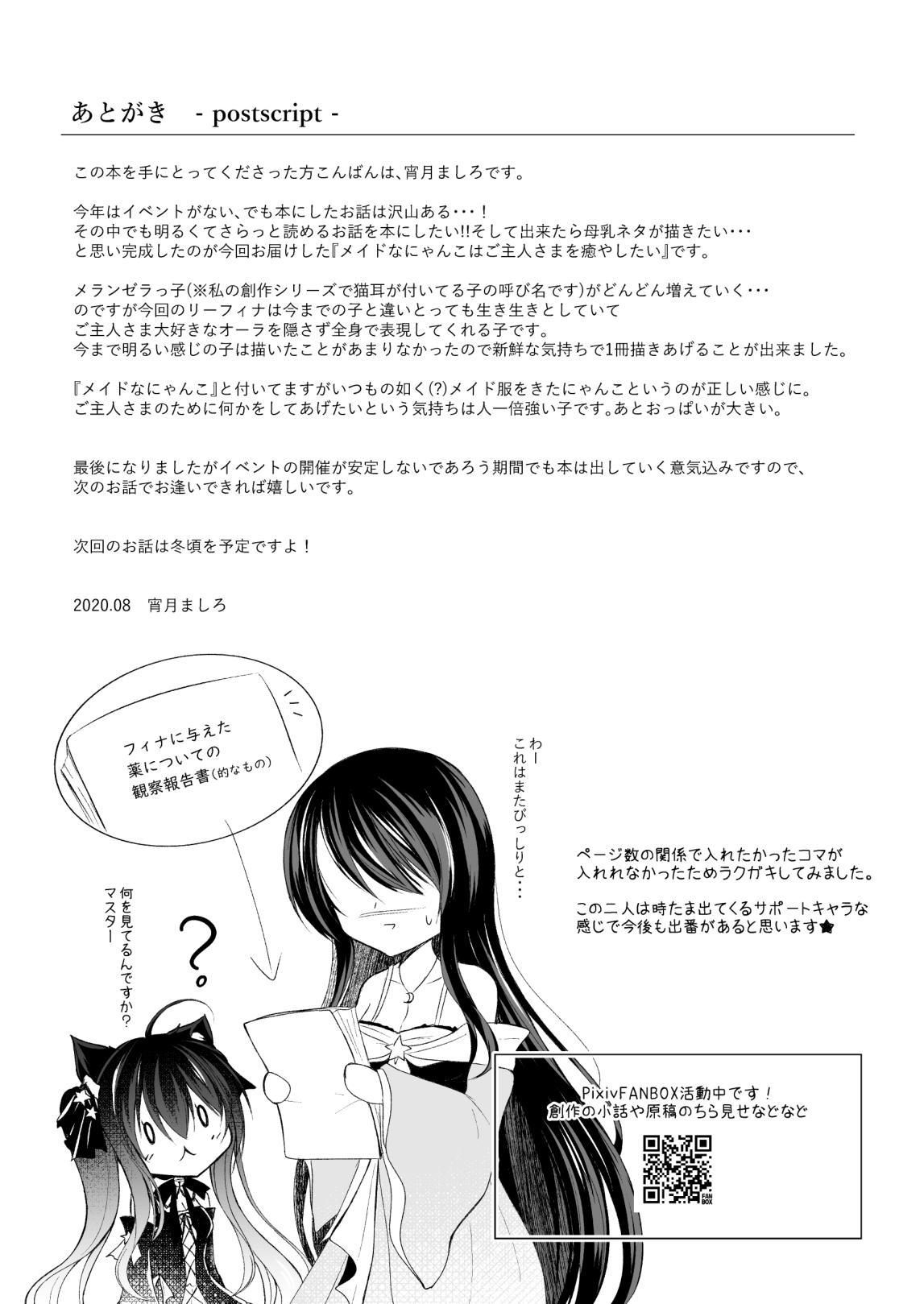 Maid na Nyanko wa Goshujin-sama o Iyashitai 20