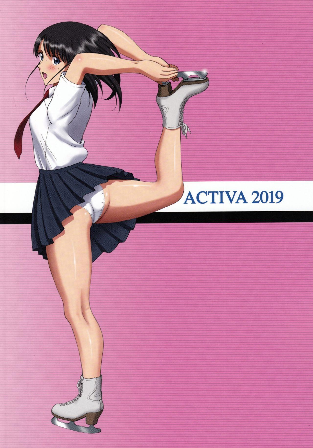 """(C96) [ACTIVA (SMAC)] Roshutsu Otome Kyou Comic """"Hadaka Skate wa Itsumo Dareka ni Mirarenagara… ~Ikoma Ayuka~"""" 49"""