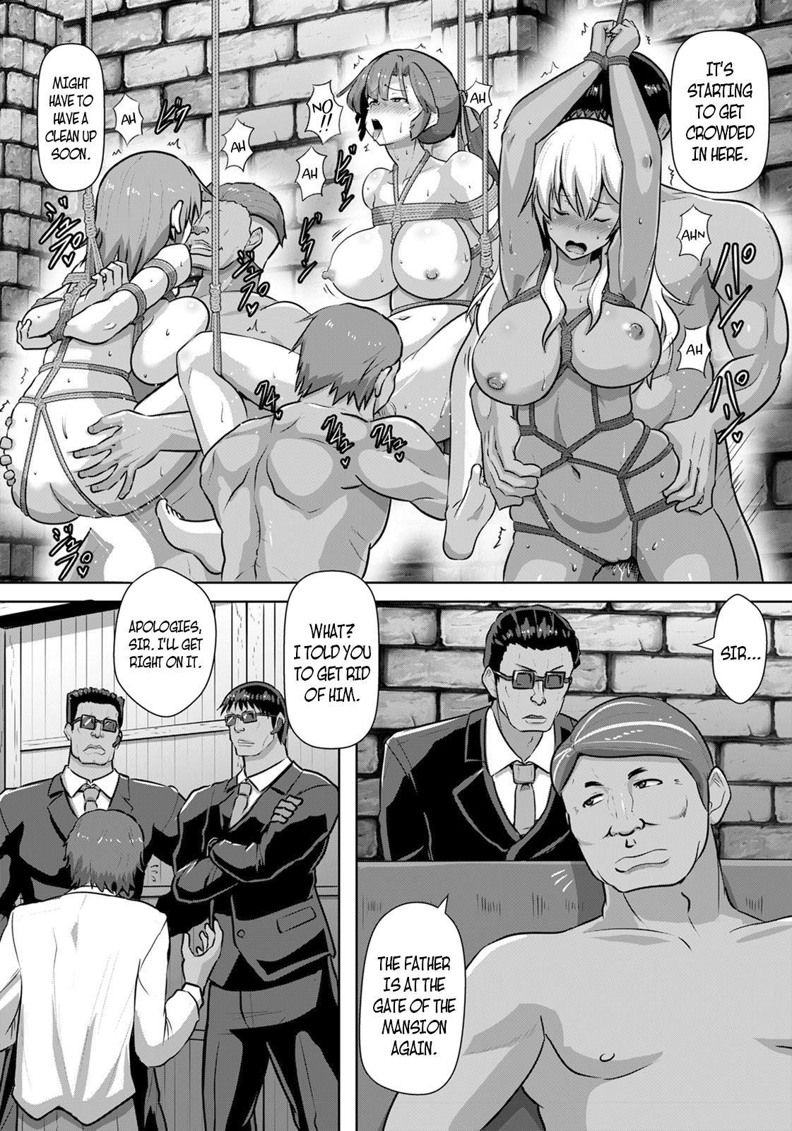 [Kumoemon] Shakkin JK Kansai Roku ~Oyako Soukan Hen~ | A Record of a High School Girl Settling Her Debts With Rape - Part 3 (ANGEL Club 2020-12) [English] [CBS] [Digital] 3
